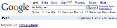 Google zum Thema