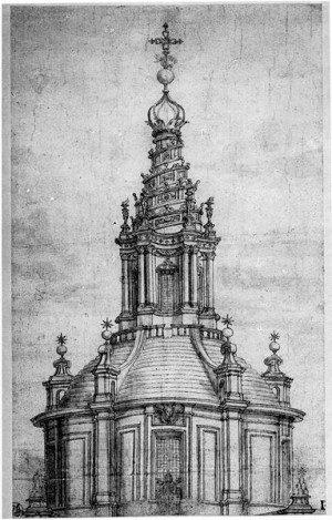 Francesco Borromini, Chiesa di Sant'Ivo alla Sapienza (PD) https://it.wikipedia.org/wiki/File:SantIvo_Drawing_02.jpg