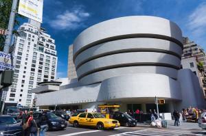 Solomon R. Guggenheim Museum (CC) BY Jean-Christophe BENOIST https://commons.wikimedia.org/wiki/File:NYC_-_Guggenheim_Museum.jpg