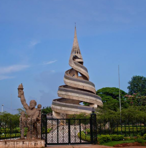 Yaounde Reunification Monument (CC) BY SA cameroontraveler https://en.wikipedia.org/wiki/File:Yaounde_Reunification_Monument.png
